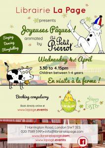 La Page - Easter flyer